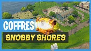 Fortnite : Tous les coffres de Snobby Shores