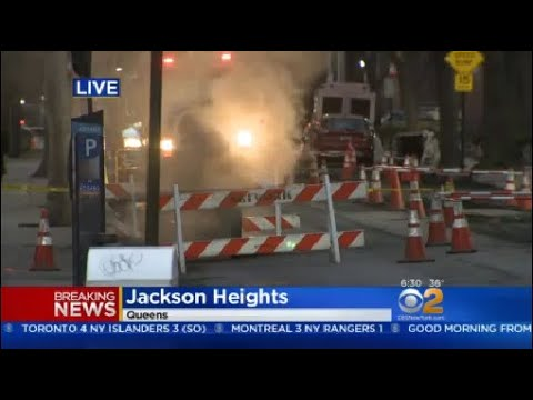 Jackson Heights Manhole Explosion
