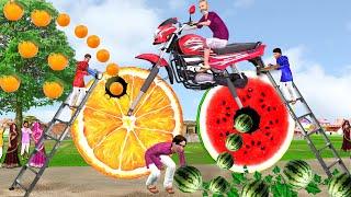जादुई विशाल मोटरसाइकिल Magical Giant Motorbike Comedy Video हिंदी कहानिय Hindi Kahaniya Hindi Story