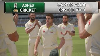 TEST MATCH DEBUT - Ashes Cricket Career Mode #100
