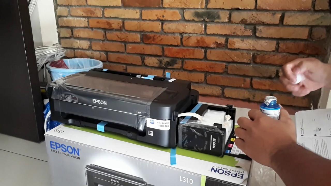 Epson Printer L310 Hitam Print Daftar Harga Termurah Terkini Dan L 310 Cara Mengisi Tinta