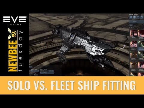 Newbee Tuesday: EVE Online Ship Fitting Guide, Solo vs Fleet