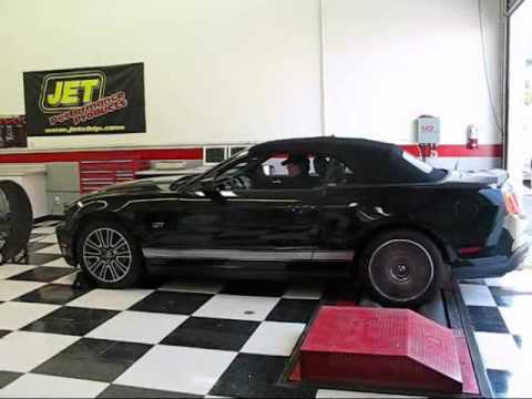 2010 Ford Mustang TopSpeed Run Jet Performance Products