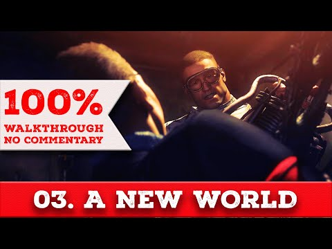 Wolfenstein: The New Order Walkthrough (Über difficulty,All Collectibles) part3 A NEW WORLD