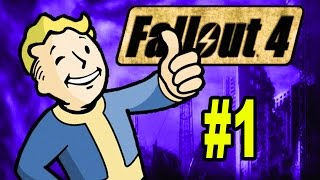 Let s Play FALLOUT 4 Part 1 Fallout 4 Gameplay