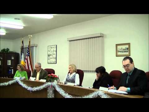 December 12, 2012 Board Meeting - Cottrellville Township