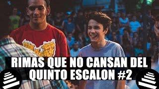 RIMAS QUE NO TE CANSARÁS DE ESCUCHAR DEL QUINTO ESCALÓN #2 thumbnail