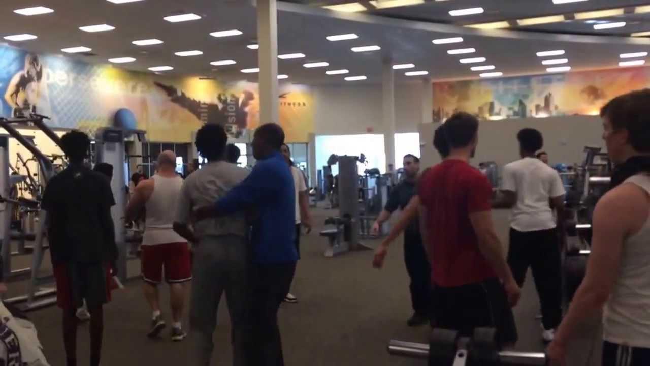 LA Fitness Roseville, MN. Gang fight (PART 1). Mar. 2, 2014. 3:30 ...