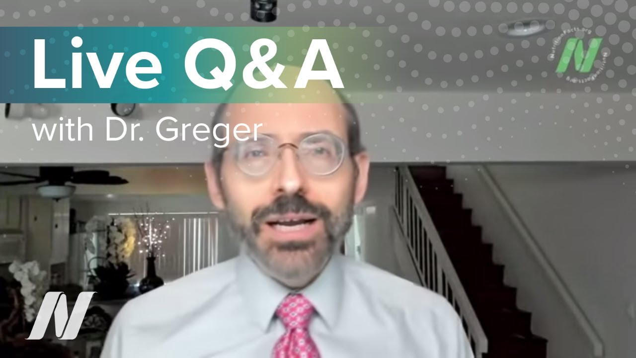 December Live Q&A with Dr. Greger