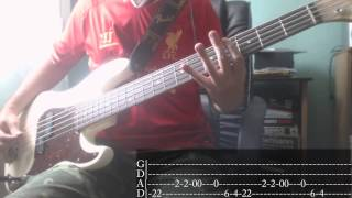 Pop-Punk/Punk-Rock's Week - 02 - Sum 41 - Fat Lip [Bass Cover + Tab]