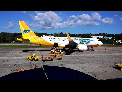 Tagbilaran Int. airport (TAG), Bohol, Philippines -Time lapse