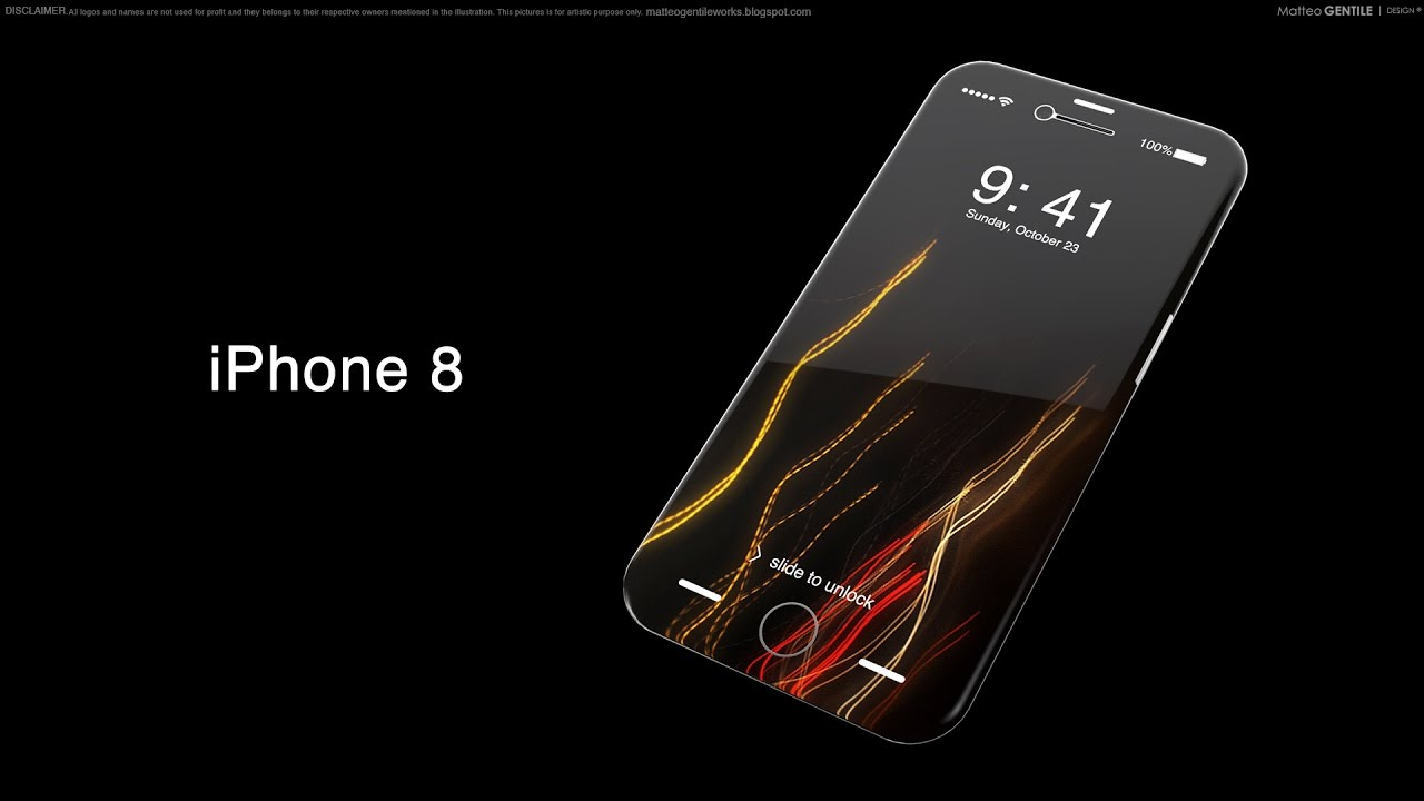 iphone 8 official 2017 concept youtube. Black Bedroom Furniture Sets. Home Design Ideas