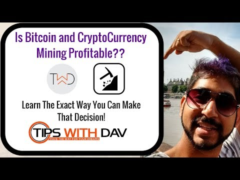 How To Profit With Mining Alt Coins Or Bitcoin? (CryptoCompare Tutorial)