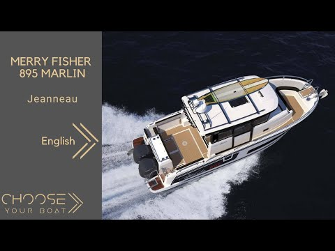 MERRY FISHER 895 Marlin - Jeanneau - Guided Tour Video (in English)