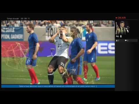 pes 2017 match exebition [ arabe/francais ] ps4 Maroc