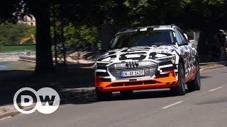 Vollelektrische Weltpremiere - Audi e-tron | DW Deutsch