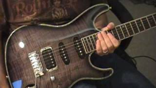 Ibanez SA Series Guitar Review Scott Grove