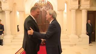Gentiloni incontra il Presidente della Repubblica di Romania