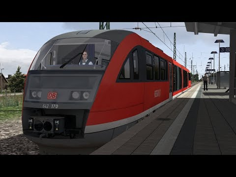 Train Simulator: DB BR642 Murnau to Garmisch In Munich - Ga-Pa Cab Ride
