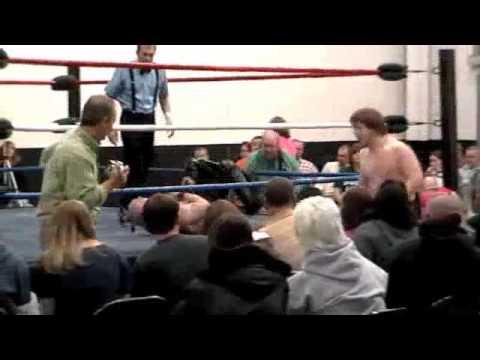 Rex Sterling vs Damien Wayne for Gouge NC Title