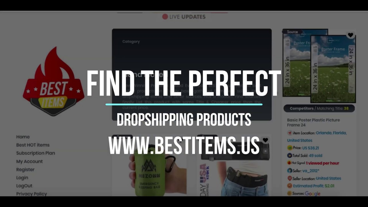 2019 Find Winning Product Secret Ebay Dropshipping Product Research Technique Free Tools Youtube