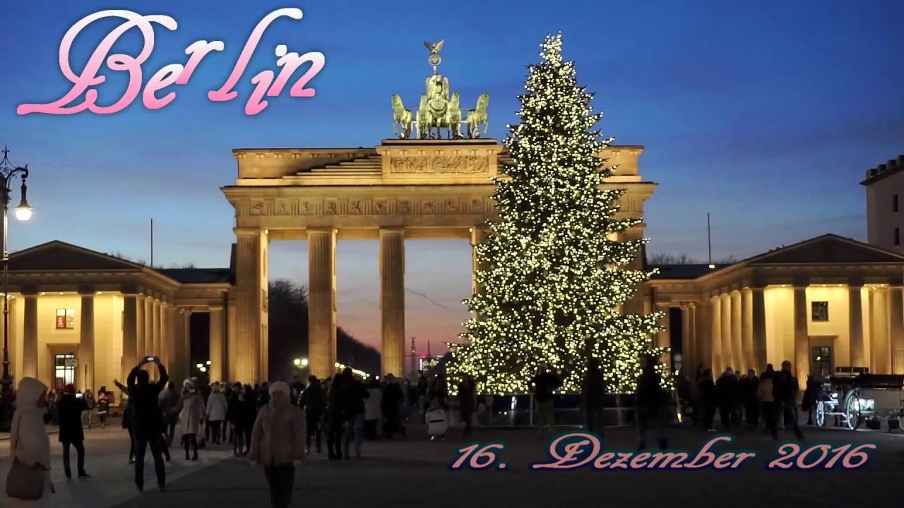 Weihnachtsbaum berlin brandenburger tor