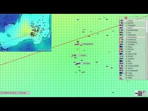 1073 Tall Ships Races 2017 Race 3 Klaipeda to Szczecin