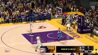 NBA 2K13 Stadium Feel Mod HD LAL vs OKC