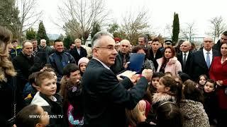Ο Πρόεδρος της Δημοκρατίας στο Δημοτικό σχολείο Βαθυλάκου