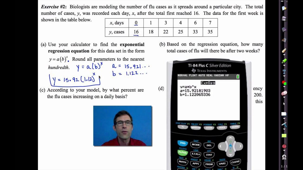 Linear versus exponential common core algebra 1 homework