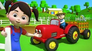 Farbe der Farm | lernen Farben | pädagogisches Lied | Reime für Kinder | Colors of The Farm Song