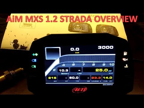 AiM MXS 1.2 Strada Overview