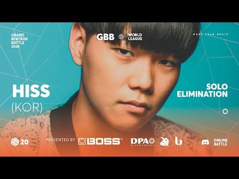 Hiss | Grand Beatbox Battle Online 2020 | Solo Elimination #9