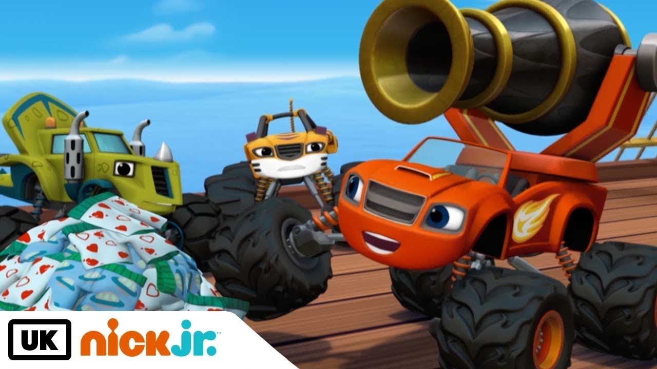 Blaze and the Monster Machines | Pegwheel the Pirate ...