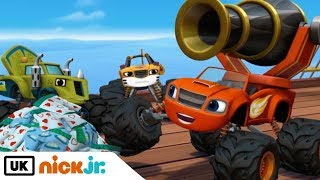 Blaze and the Monster Machines | Pegwheel the Pirate | Nick Jr. UK