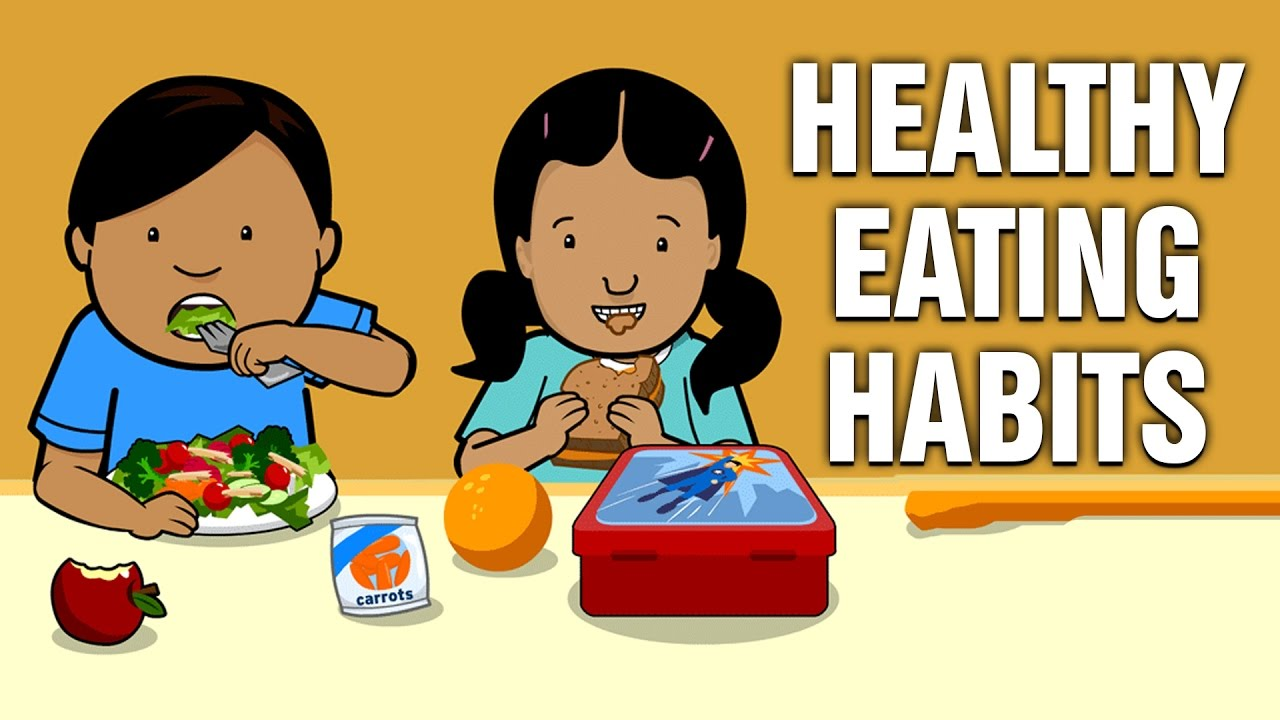 Healthy Eating Habits For Kids In English Educational Videos For Kids Youtube