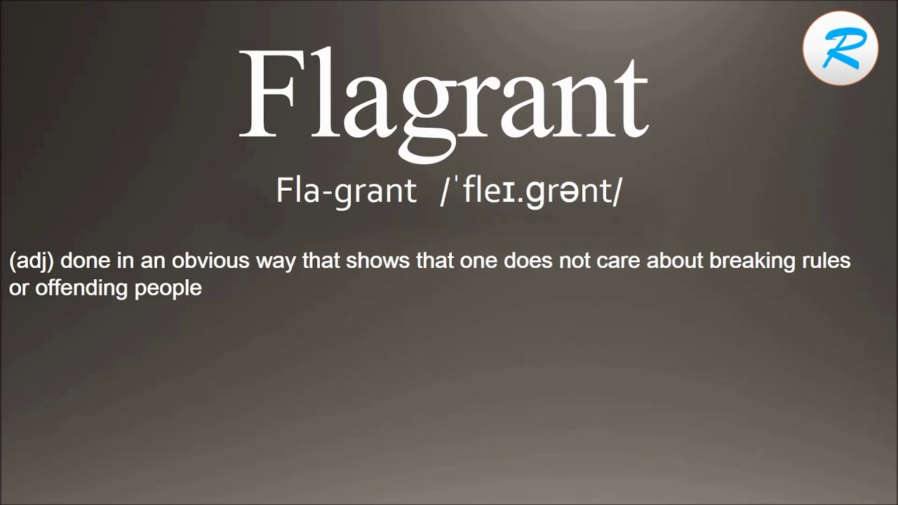 Amazing How To Pronounce Flagrant ; Flagrant Pronunciation ; Flagrant Meaning ; Flagrant  Definition