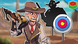 Ashe's Shooting Gallery | Overwatch (Custom Game)