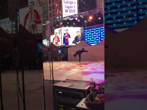 Columbia Wushu - Jian Nan Chun Times Square Performance
