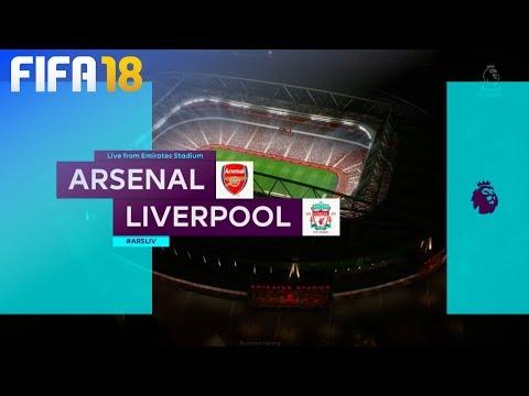 FIFA 18 - Arsenal vs. Liverpool @ Emirates Stadium