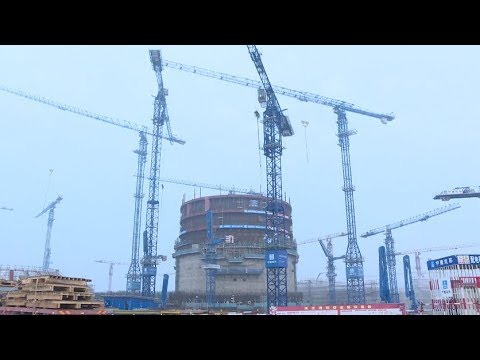 Construction for Nuclear Island Main Body of Fangchenggang Nuclear Power Unit 3 Completed
