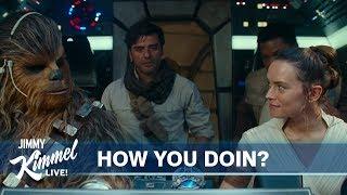 Brooklynites Revoice Star Wars: The Rise of Skywalker Trailer