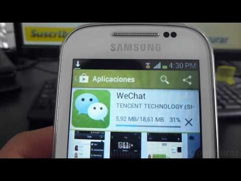 Descargar Wechat Gratis Para Android Samsung Galaxy Chat Español Video Full HD
