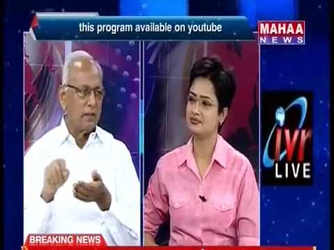 Editors Time With IVR On TDP MLA Madhavaram Krishna Rao Joins TRS Party - Part 01/2