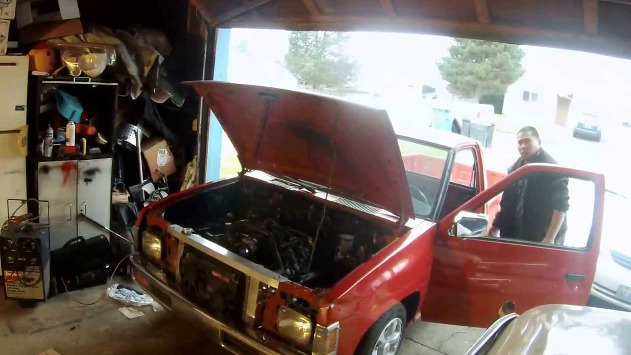 Nissan Hardbody V8 Engine Swap Kit Automotivegarage Org