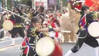 新宿三越前での演舞、目の前で見てチムドンドン、迫力ありました(#^^#) ...