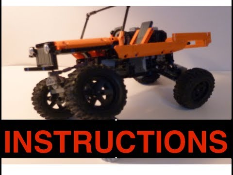 Lego Jeep Willys Instructions Youtube