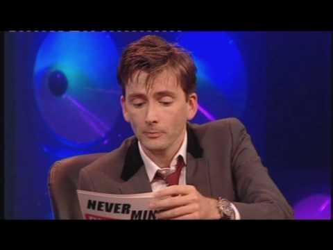 Knock Knock, Dr Who, David Tennant and Bernard Cribbins