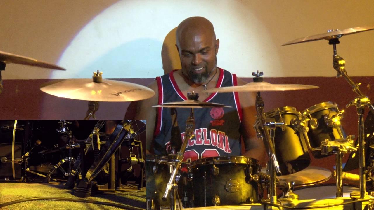Jwd Berlin rhythmaya tyronne silva drumsolo live at jwd berlin on 25 09 16