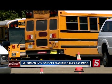 Wilson County Schools Plan Incentives For Bus Drivers
